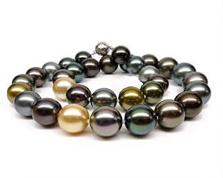 Différentes couleurs perles