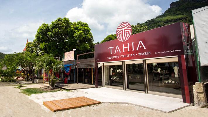 Boutique de perles à Bora Bora - Tahia Pearls