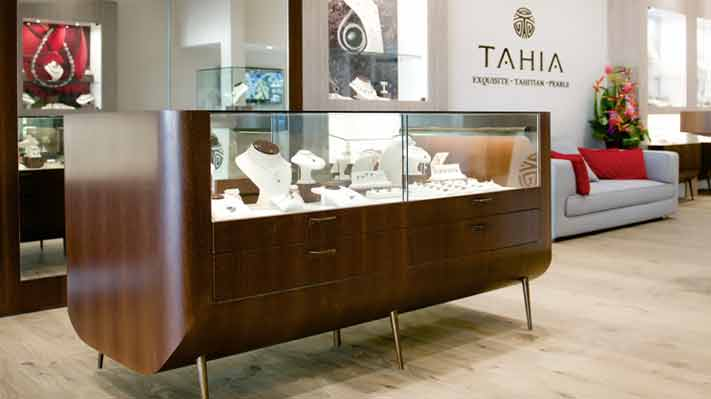 Tahia Pearls boutique in Papeete